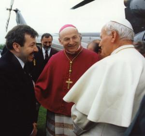 123 91 z Papieżem